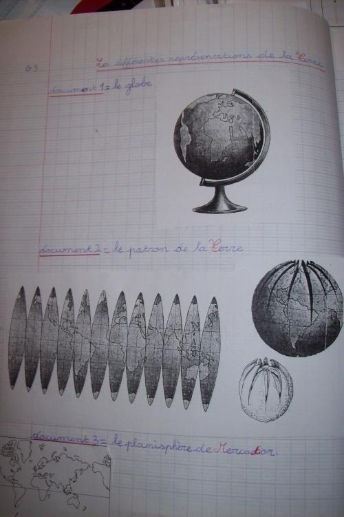 CE2 : Les différentes représentations de la Terre / Se repérer sur la Terre