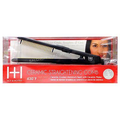 Annie International - Ceramic Straightening Comb 3/4