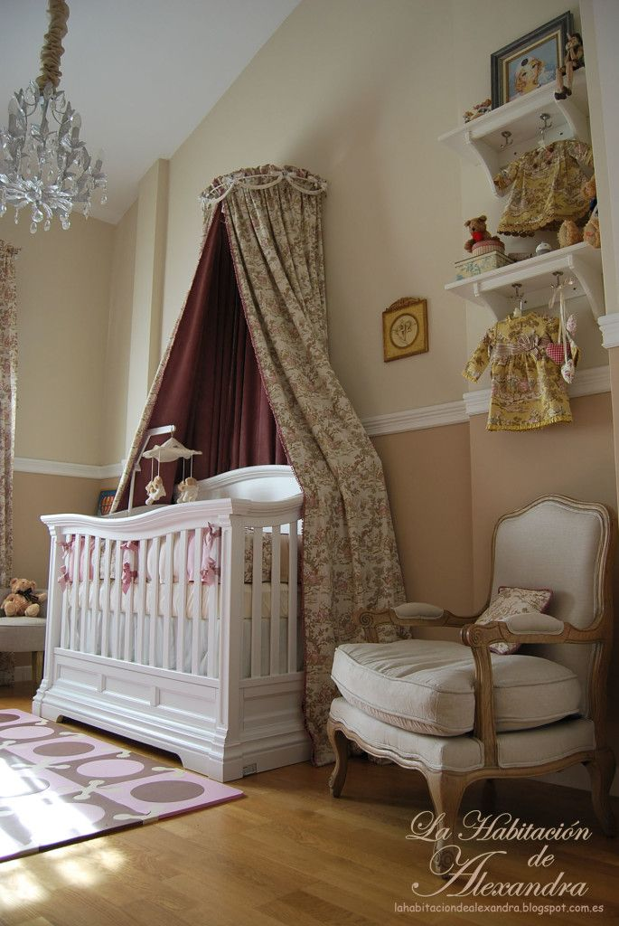 Classic and Shabby Chic Nursery