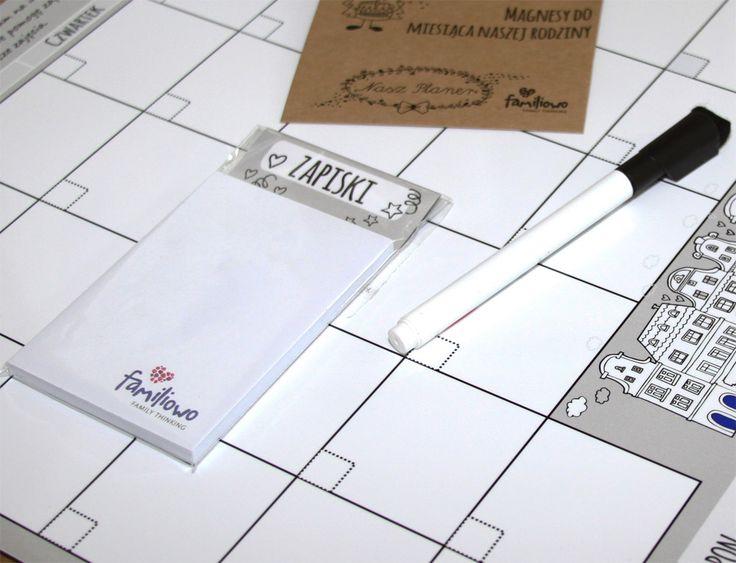 Planer dla rodziny - Smart Premium (zestaw) Familiowo