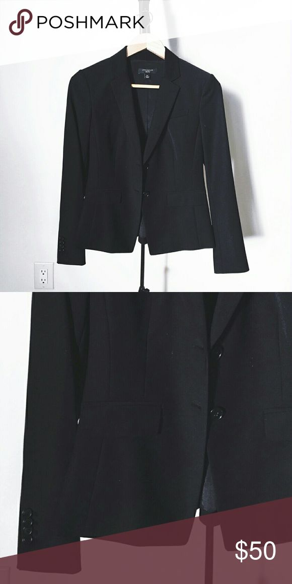 Ann Taylor Fitted Blazer A flattering cut made from great quality material.  Unworn, no wear/tear/stains. Ann Taylor Jackets & Coats Blazers