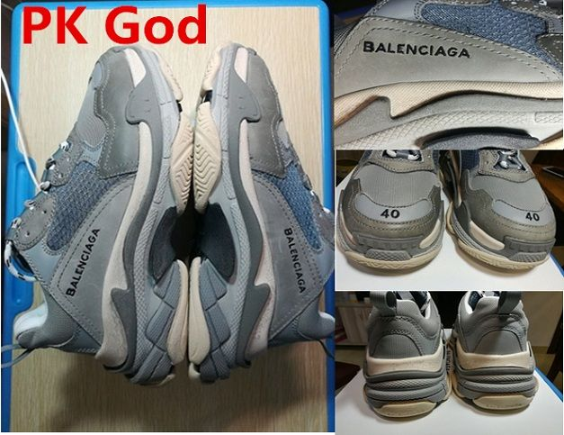 89dfa6c6b8d cheapest Balenciaga Triple S Trainer Gray PK God original sneakers release  date original 2018 outlet online shop usa store