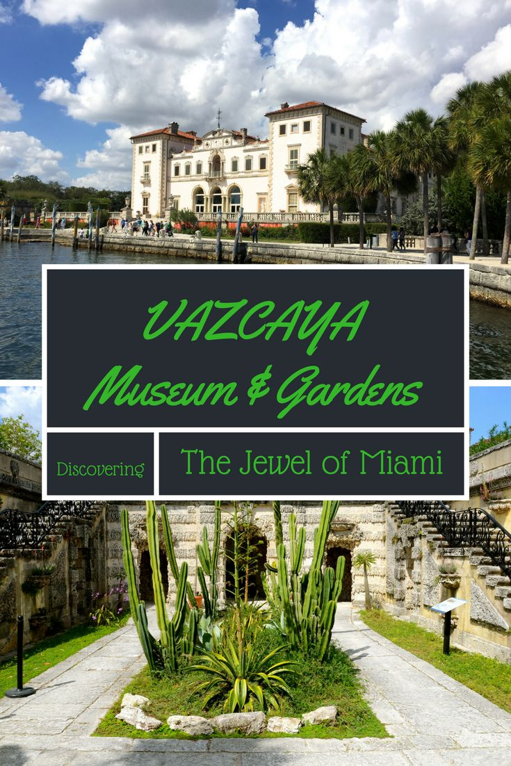 Vizcaya Museum & Gardens on the Biscayne Bay Coconut Grove, Miami is a must visit. A National Historic Landmark, it was built as an Italian style villa by James Deering in 1916. Beautiful interiors and exquisite gardens make this the jewel of Miami. Kids will love exploring the grounds as well - adventurous and intriguing, it was one of our favorite things to do as a family in Miami.