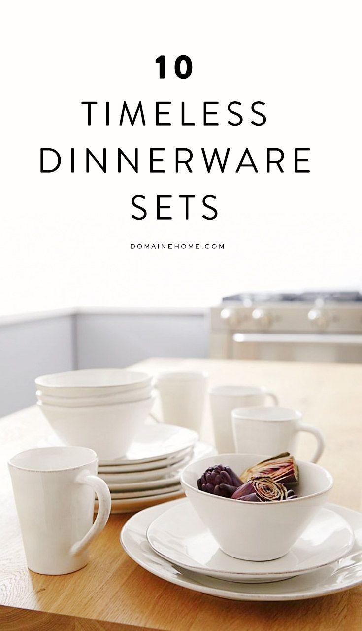10 Timeless White Dinnerware Sets