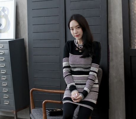 Loveliness of the female clothing shop. [Whitefox] The OPS in non / Size : FREE / Price : 31.11 USD #korea #fashion #style #fashionshop #apperal #koreashop #ootd #whitefox #dress #knit