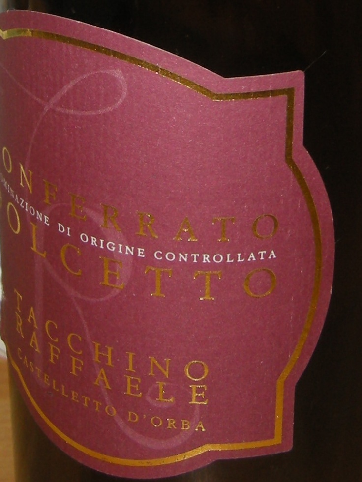 elegant red wine from Piedmont. 13% vol. info@tacchinovino.it