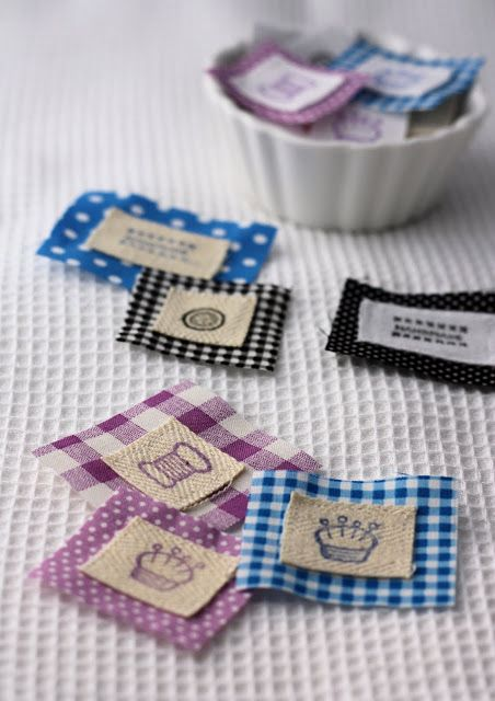 Stamped Tags and Labels | A Spoonful of Sugar