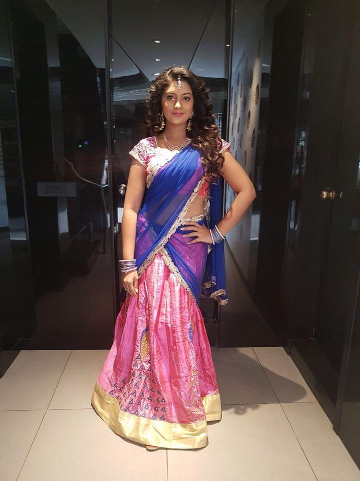 Karuna hot saree photos