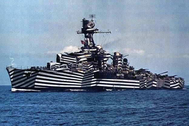 Abstracting the Fleet: Dazzle Camouflage's Influence on Contemporary Art and Design | The Creators Project
