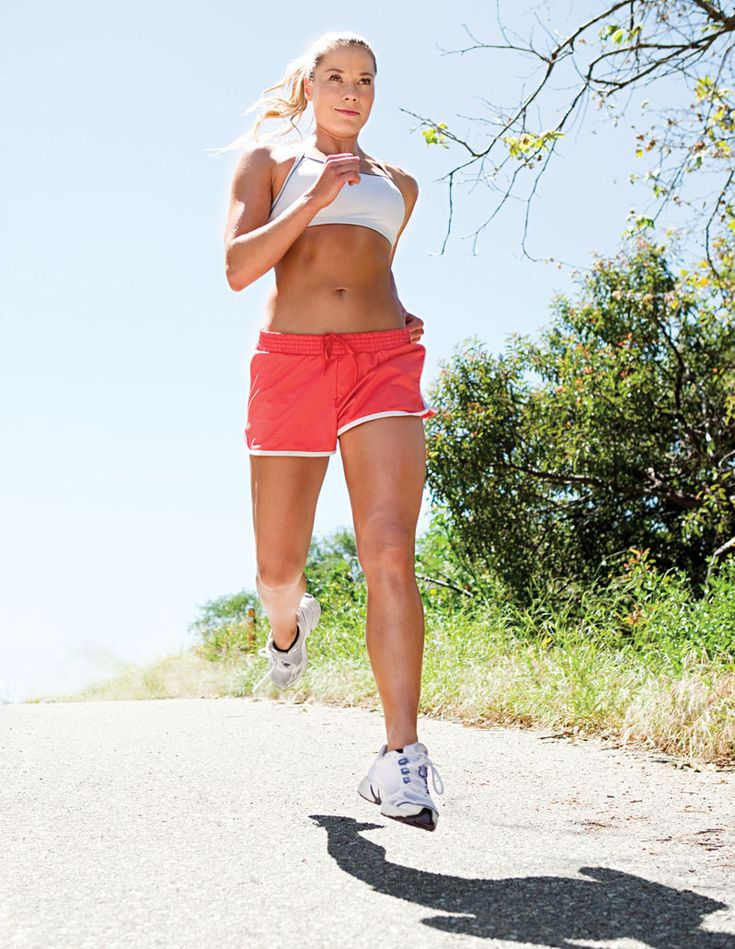 Take your run outside: Studies shows vitamin D (absorbed from the sun's rays) stimulates energy-producing components of our cells, helping muscles feel stronger.