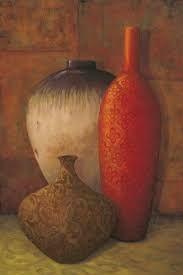 Resultado de imagem para cacharros pintados al oleo