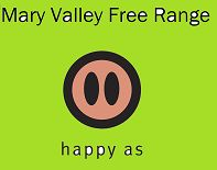 Mary Valley Free Range is an ecological free range pig farm, working with nature to nurture pigs and the land. Natural in every way, breeding rare breed English Large Black pigs and producing quality free range organic pork. Certified True Free Range with Humane Choice.