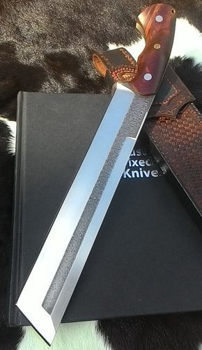 ELITE TANTO Knife Competition Chopper Knife Big by OldBlockBlades