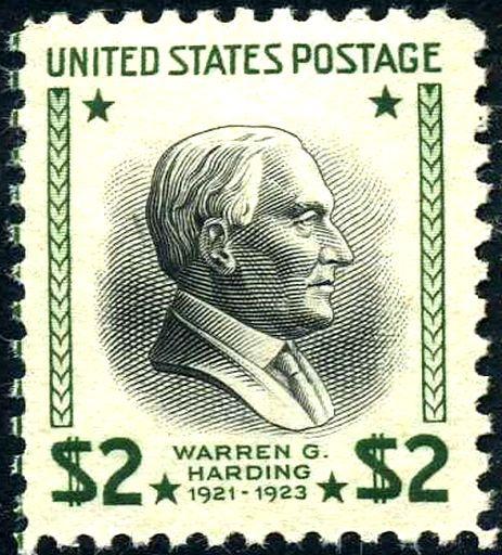Warren G Harding 1938 Issue 2