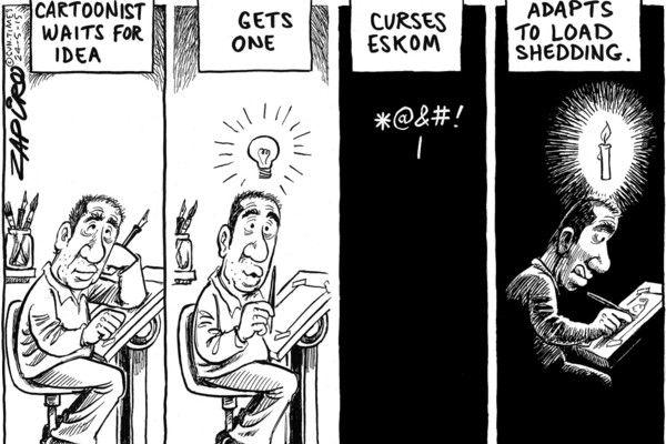 Zapiro: Cartoonist in the dark - Mail & Guardian