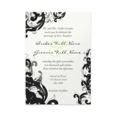 Beautiful Gothic Wedding Invitations   The Wedding Specialists