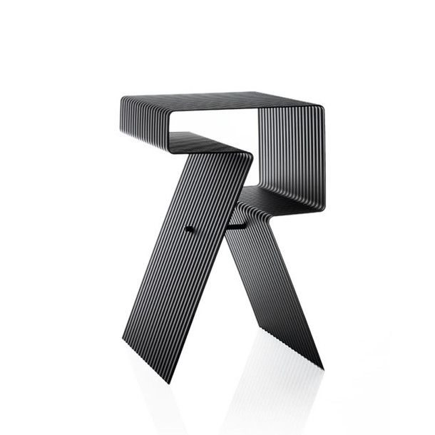 Aluminium Side Table byChristoph Böninger