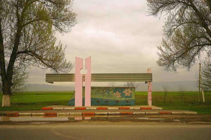 Post-Soviet Bus Stops | from a to be