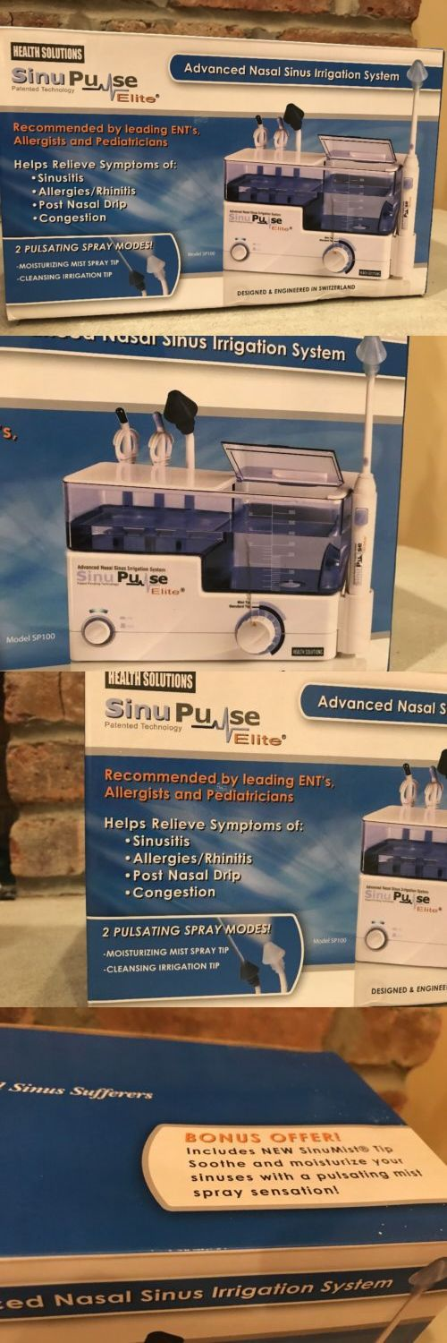 Other Health Care Supplies: Sinupulse Elite Advanced Nasal Sinus Irrigation System W Bonus Sinumist Tip New -> BUY IT NOW ONLY: $49.99 on eBay!