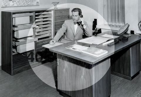 Creating The Best Workplaces Since 1945. #forties #martela #office #desk