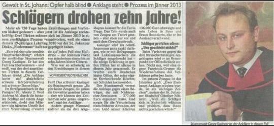 HC Strache  Endlich wird den brutalen Gewaltverbrechern aus Salzburg der Prozess gemacht. Dank der Aufklärung und Aktion durch den RFJ-Salzburg über Facebook, kommen die Gewaltverbrecher, welche einen jungen Salzburger fast erschlagen und umgebracht hätten, jetzt endlich vor Gericht und erhalten ein Urteil (bis zu 10 Jahre stehen auf das Verbrechen)! Opferschutz statt Täterhilfe. Und gerechte Strafen für Verbrecher, dafür steht die FPÖ! #hcstrache #austria #FPO #Salzburg #Wien #Vienna