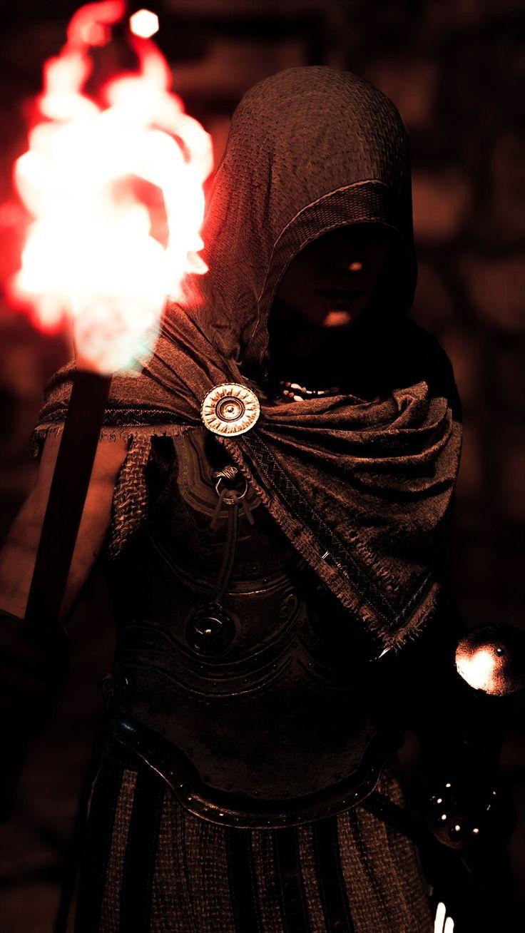 AC Odyssey Kassandra | Assassins creed artwork, Assassins