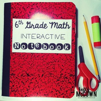This Middle School Interactive Math Notebook Bundle is a COMPLETE BUNDLE covering ALL 6th grade Common Core Standards! **************************************************************************************************************************************************** CLICK HERE to watch the video tutorial of the Interactive Math Notebook for 6th Graders…
