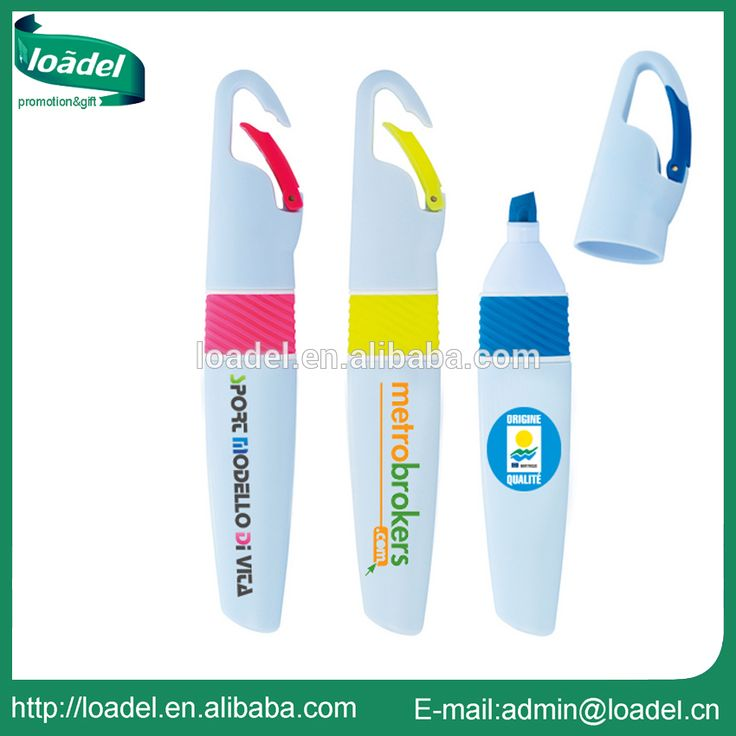 Multi color promotion plastic highlighter