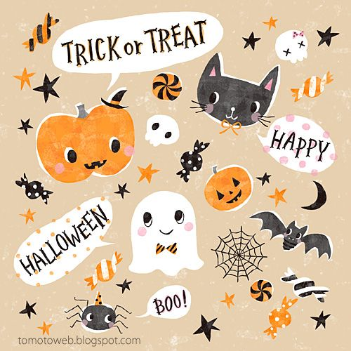 tomoto: Happy Halloween♡
