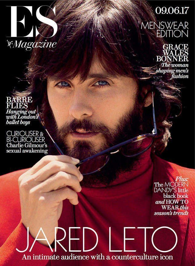 JARED LETO INTERVIEW FEATURE ES MAGAZINE 9 JUNE 2017 SHIPPING INCLUDED
