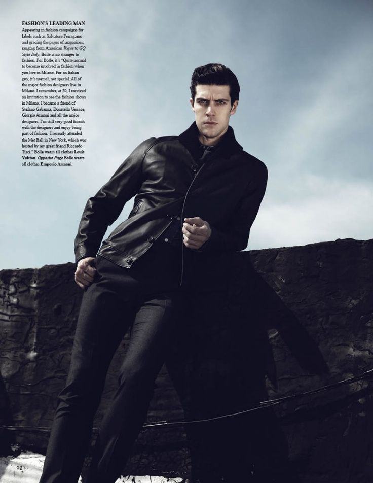 Roberto Bolle by Brent Chua for Fashionisto #8