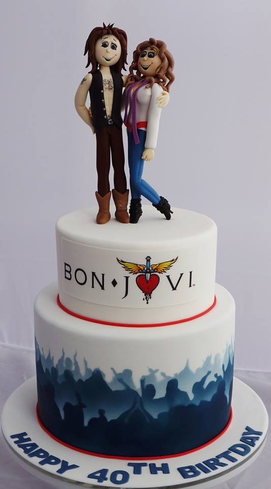 Bon Jovi Cake Made For My 40th Birthday Kelly S Cake
