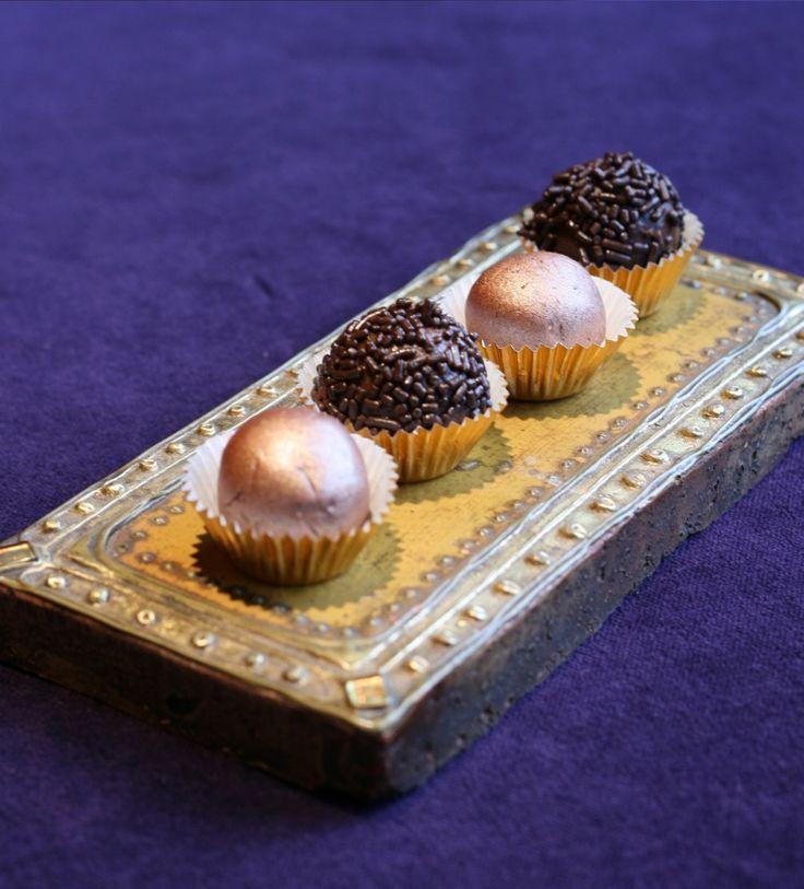"Chocolate ""energy"" truffles. Energy means it's a high calorie dessert."