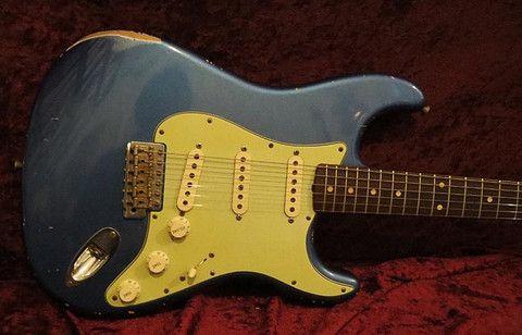 Fender Stratocaster John Cruz Masterbuilt 1960 Custom Shop 2007
