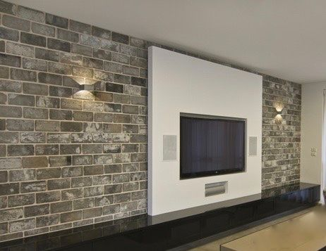 Charming Thin Brick Veneer Is A Verstile Interior Design Option For Many Varied  Spaces Mixing Seamlessly With Old And New Architecture.
