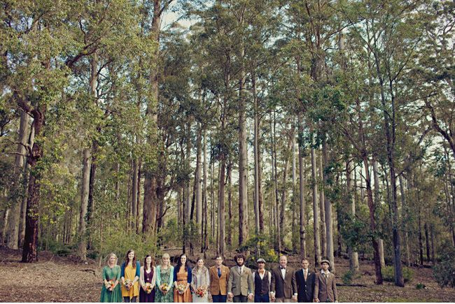 Rustic Australian Wedding in Donnelly River: Rae + Shane    So much awesome