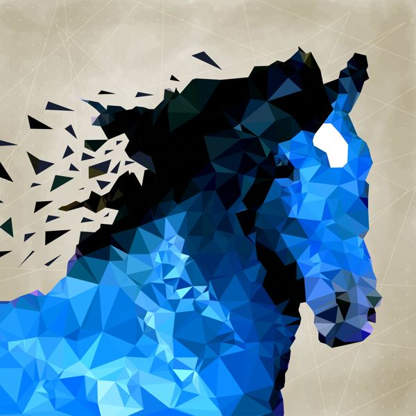 Horses on Behance #illustration #horse