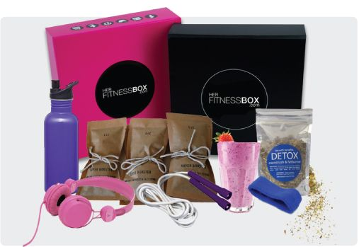 Brought to you by the makers of Her Fashion Box, the Her Fitness Box monthly subscription box delivers a monthly box of fitness accessories and health and lifestyle samples valued at over $110.