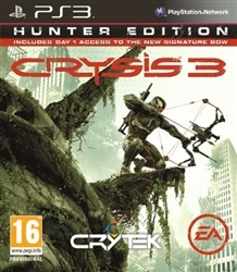 Crysis 3 Hunter Edition PS3. Pre Order Deal. Released February 22. $59