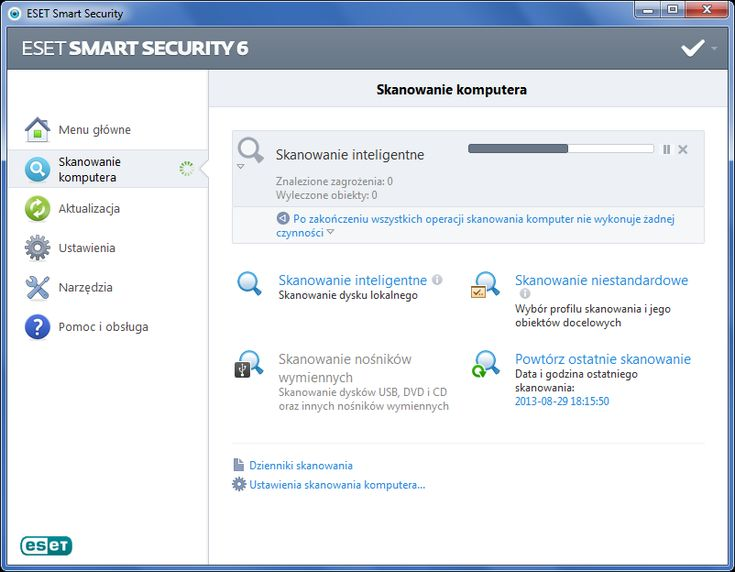ESET Smart Security 6 - poznaj plusy i minusy, zanim zainstalujesz tego antywirusa (http://di.com.pl/news/48759,0,ESET_Smart_Security_6_-_poznaj_plusy_i_minusy_zanim_zainstalujesz_tego_antywirusa-Anna_Wasilewska-Spioch.html)