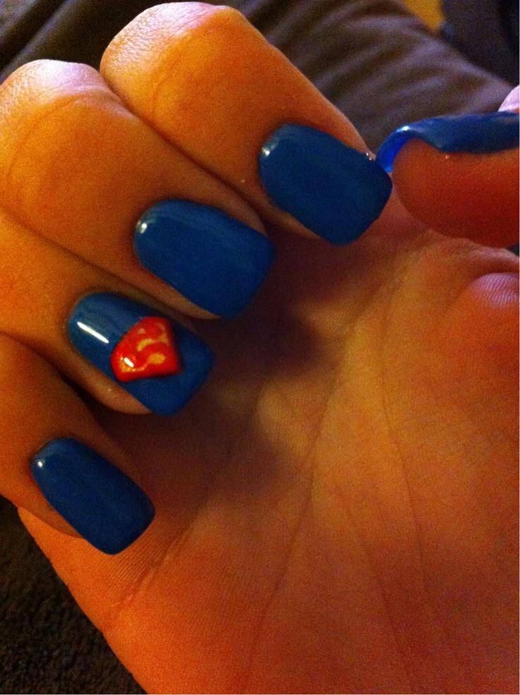 Superman nails!