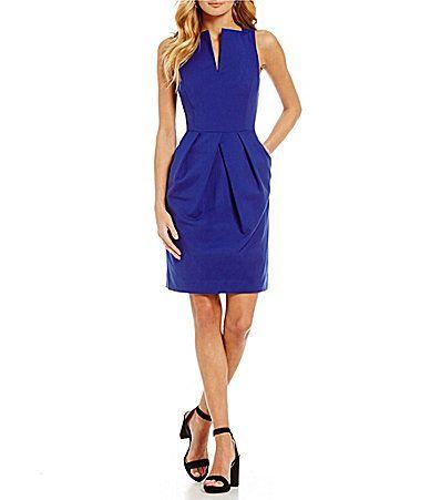 Antonio Melani Winnie VNeck Sheath Dress #Dillards