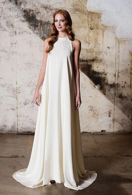 Brides: Tara LaTour - Fall 2015. Wedding dress by Tara LaTour