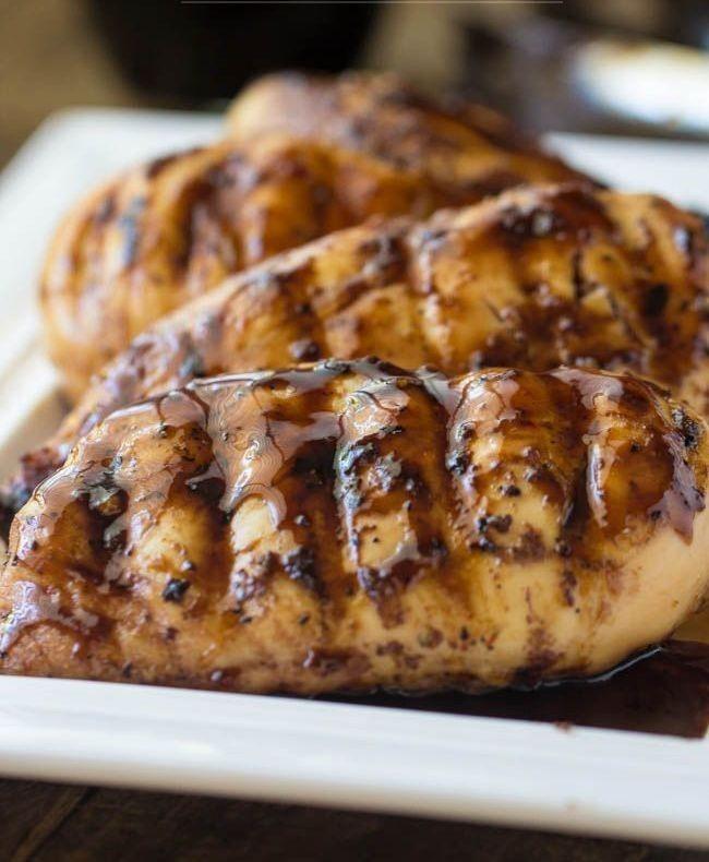 Κοτόπουλο με σάλτσα από μέλι και βαλσάμικο!