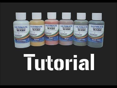 ▶ Ultimate Weathering Wash Tutorial - YouTube