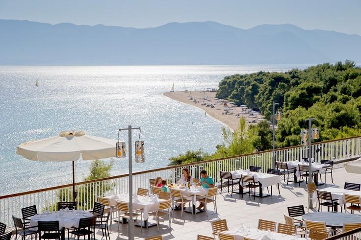 Panorama - en la 5ª planta del hotel Acropole, con excepcionales vistas sobre el Egeo - Club Med Gregolimano, Grecia
