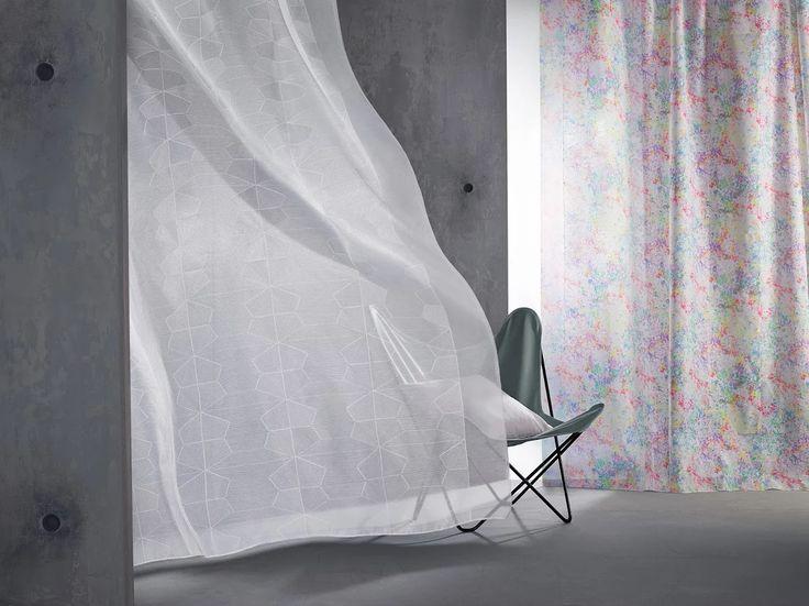 Iro & Yoshi: Visillos de colección Vision de Saum. / Cortinetes de la col·lecció Vision de Saum. #ontario #visillos