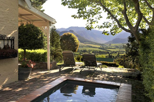 Our supposed hotel room at La Petite Ferme, Franschhoek, South Africa