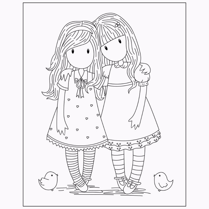 Maya And Mom Cute Card Ideas Coloring Pages Digi