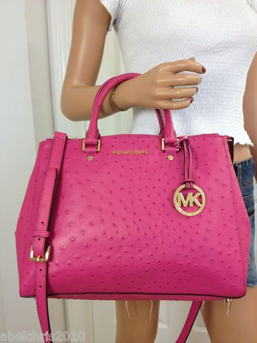 152d558635176 Buy michael kors bedford ostrich   OFF60% Discounted
